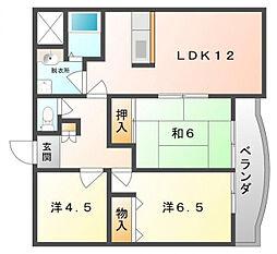 ソフィアコート[5階]の間取り