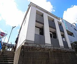 京都府京都市南区大宮通八条上る塩屋町の賃貸アパートの外観