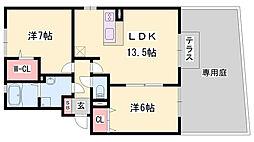 妻鹿駅 7.2万円