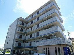 兵庫県明石市魚住町金ヶ崎の賃貸マンションの外観