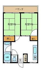 兵庫県神戸市垂水区王居殿2丁目の賃貸マンションの間取り
