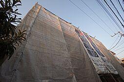 神奈川県川崎市中原区下新城3丁目の賃貸アパートの外観