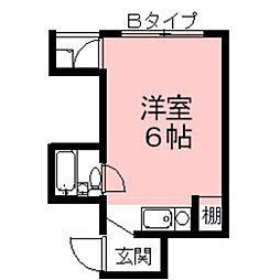 Casa SophiaIV[3B号室]の間取り