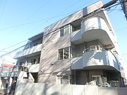東京都府中市晴見町1丁目の賃貸マンションの外観