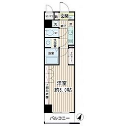 ルースト[3階]の間取り