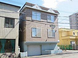 北海道札幌市白石区菊水三条4丁目の賃貸アパートの外観