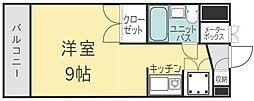 エスポワール祇園[5階]の間取り