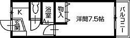遠山ハイツI[301号室]の間取り