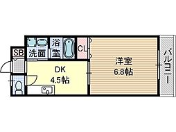 ラ・ドルチェ[2階]の間取り