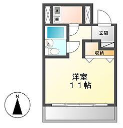 ラフィネ新栄[8階]の間取り