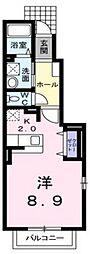 グリーンガーデン[2階]の間取り