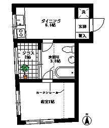 テラスウィステリア[3階]の間取り