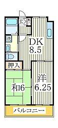 サンモール大塚[2階]の間取り