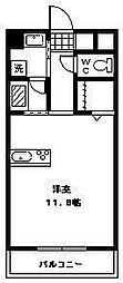 ソラーレ広島[5階]の間取り