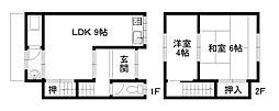 [テラスハウス] 京都府京都市南区久世上久世町 の賃貸【/】の間取り