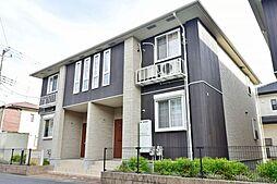 千葉県大網白里市みどりが丘3丁目の賃貸アパートの外観