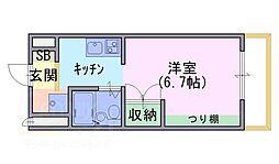 アクト1[2階]の間取り