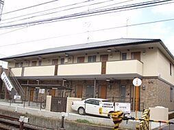京都府京都市伏見区深草祓川町の賃貸アパートの外観
