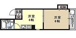 ラフォーレ堺町[405号室号室]の間取り
