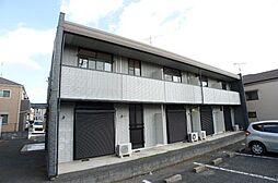 千葉県柏市新富町2丁目の賃貸アパートの外観