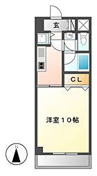 ウイングパーク[5階]の間取り