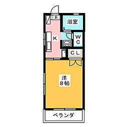 WIND12[1階]の間取り