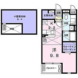 久津川駅 6.5万円