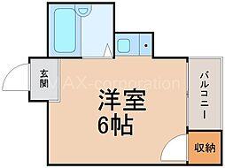 ラフィーネ新大阪[1階]の間取り