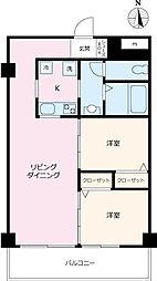 R3kawagoe[5F-E号室]の間取り