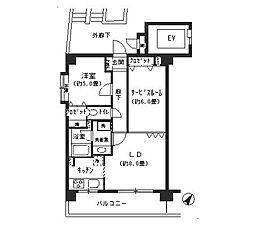 SATOMI(サトミ)−5番館[403号室]の間取り
