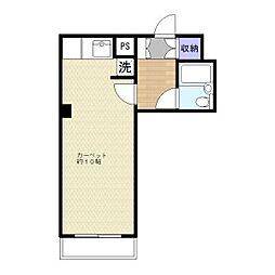 コートハウスしんや[2階]の間取り
