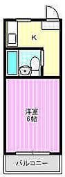 ロイヤルオーディン藤田町[1階]の間取り
