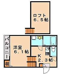 BROWNIE[1階]の間取り