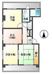 第2須賀ビル[4階]の間取り