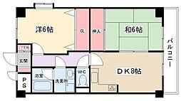 コートNK[104号室]の間取り
