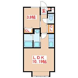 cube8[2階]の間取り
