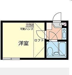 ネオステージ大倉山[1階]の間取り
