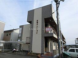 滋賀県大津市雄琴5丁目の賃貸マンションの外観