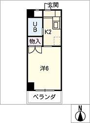 安田学研会館南・北棟[1階]の間取り