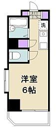 東京都江東区清澄3丁目の賃貸マンションの間取り