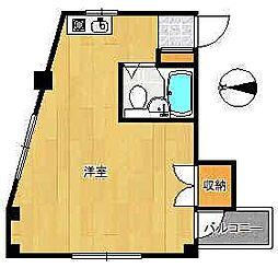 KSKサンパール[5階]の間取り