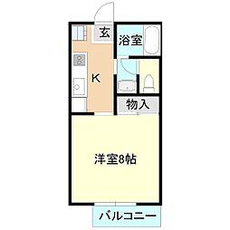 マイステージ35番館[1階]の間取り