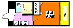 ヴィラ・サンシャイン 207号室[2階]の間取り