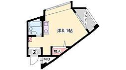 加古川ヤングパレス[204号室]の間取り