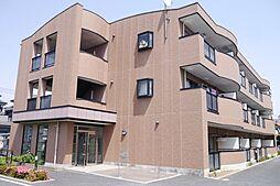 埼玉県越谷市宮本町3丁目の賃貸マンションの外観