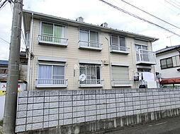 埼玉県上尾市本町の賃貸アパートの外観