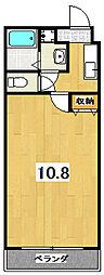 ノースウェーブTAMASAKU[1階]の間取り