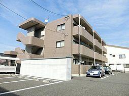 長野県松本市宮田の賃貸マンションの外観