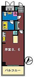 ダイワティアラ津田沼6[207号室]の間取り
