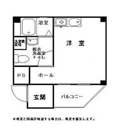 武井マンション[202号室]の間取り